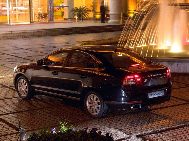 Китайские авто, клоны. Бизнес-седан Chery Riich G5 стал первым