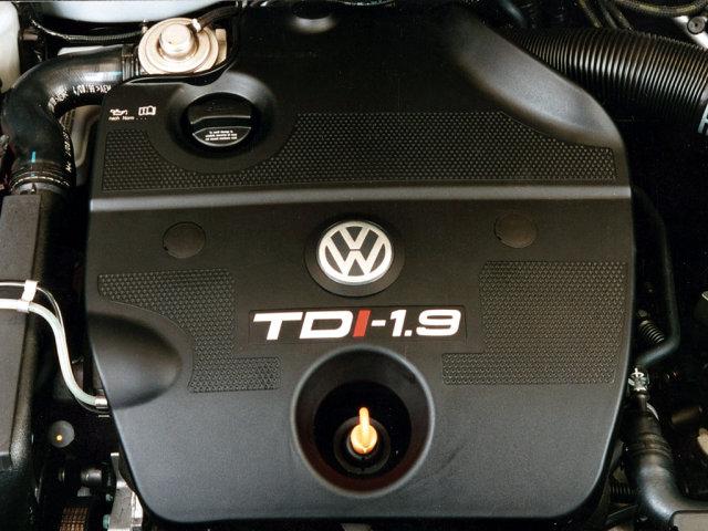 Under the hood Volkswagen Golf Estate (Typ 1J) '1999–2007.