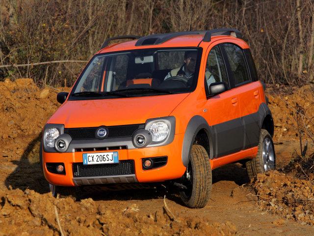 Лучшая фотография, картинка, изображение, фото автомобиля Fiat Panda Cross 2006
