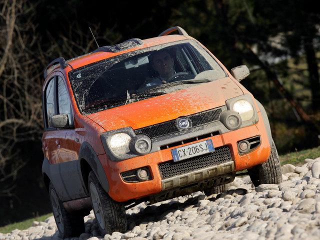Фото Fiat Panda Cross 2006 высокого разришения вы можите использовать как о
