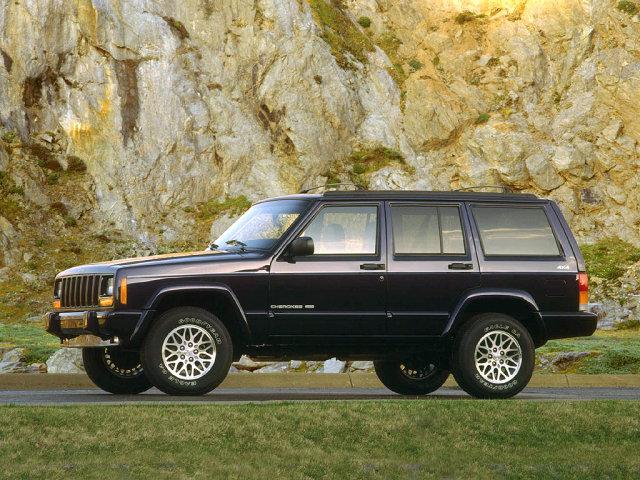 Фотографии автомобилей Jeep Cherokee / Джип Чероки (1997 - 2001) Вседорожник (5 дв.