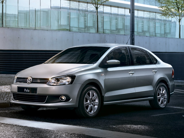 volkswagen polo седан фото