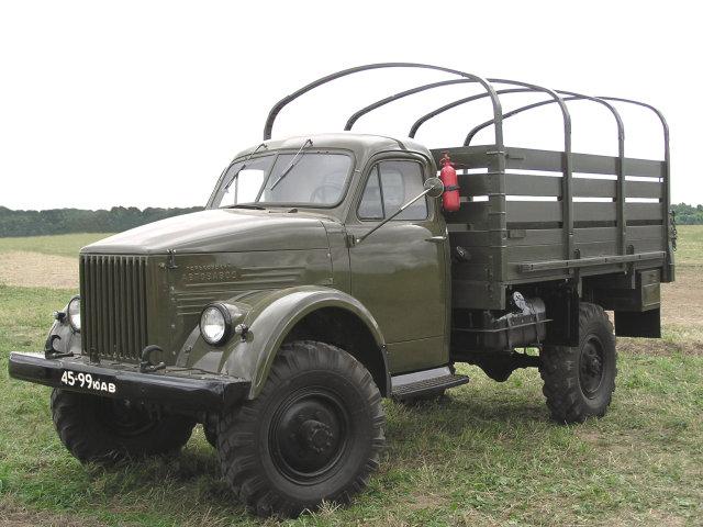 Газ 63 1948 1968 грузовик тент