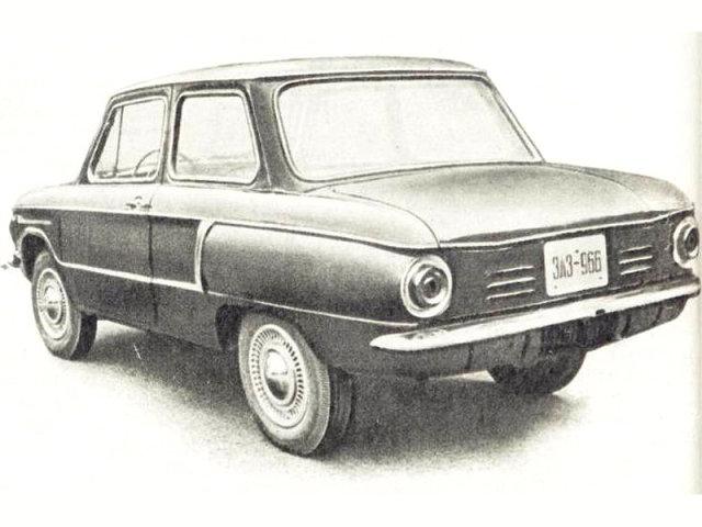 ЗАЗ-966 «ушастый» третий вариант…