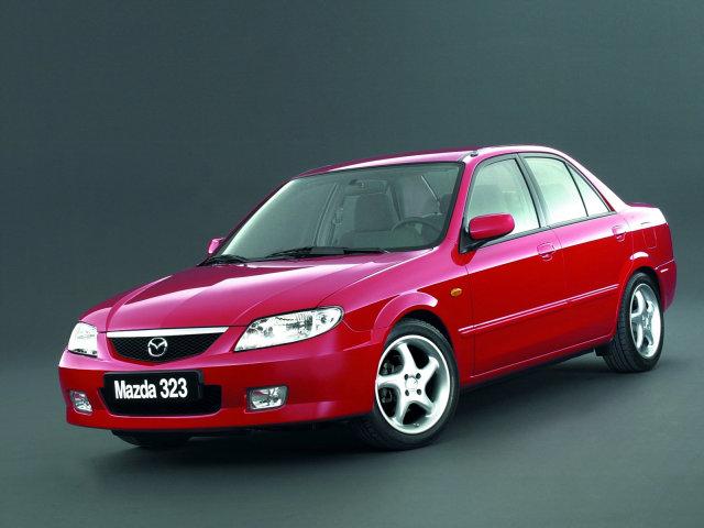 Mazda 323 F 1. 5i.  Посмотреть полный размер фото.