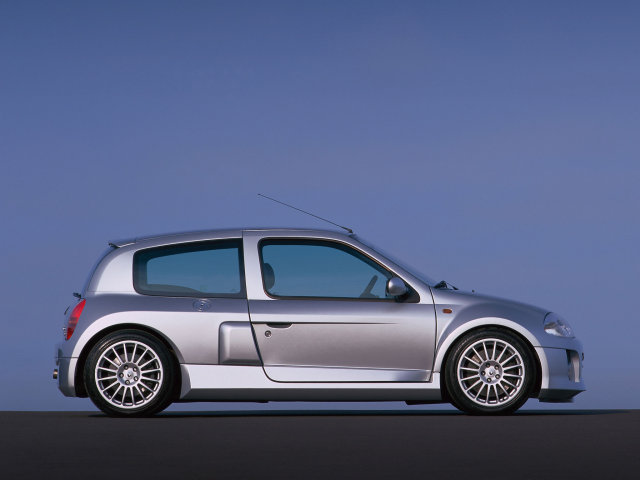 Все картинки Renault Clio Второе поколение.