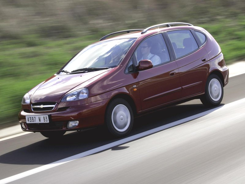 Chevrolet Rezzo, I поколение, 2004, экстерьер.