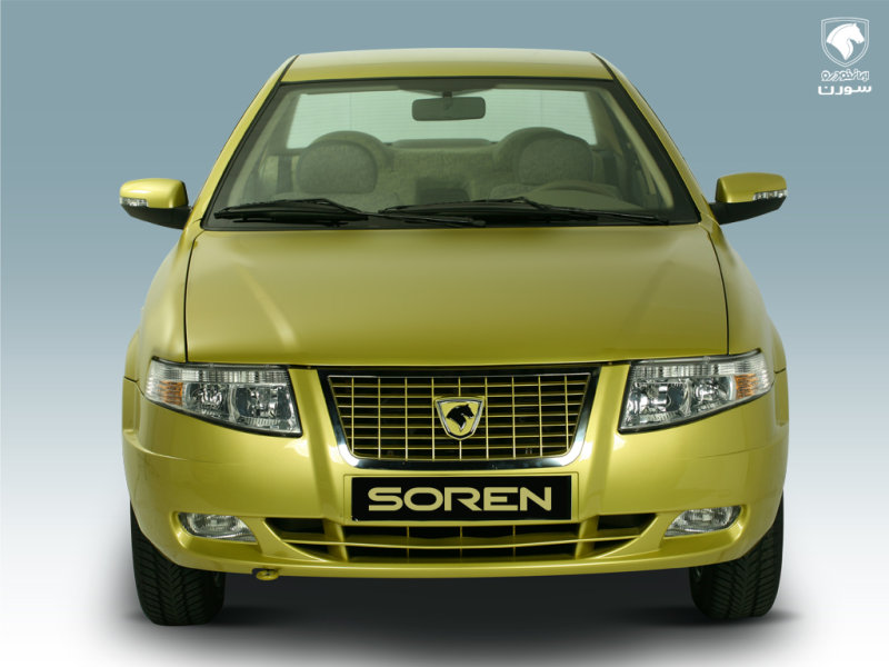 Фотографии автомобилей iran khodro soren / иран ходро сорен (2009