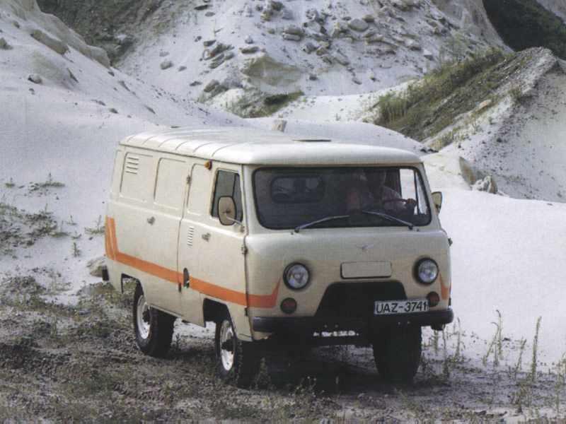 УАЗ-3741 (37419) - грузовой полнопри…