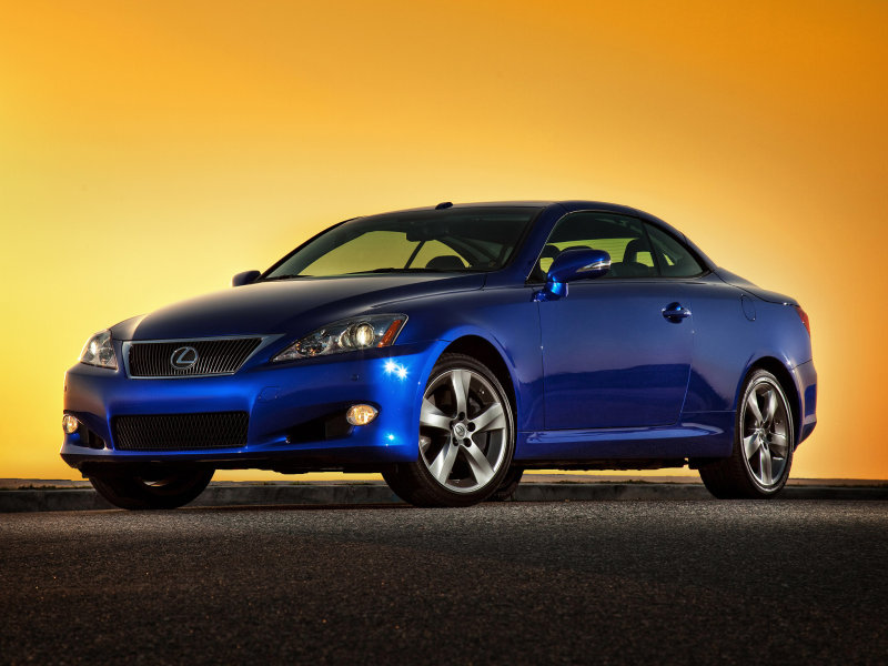 Фотогалерея Lexus IS Convertible…