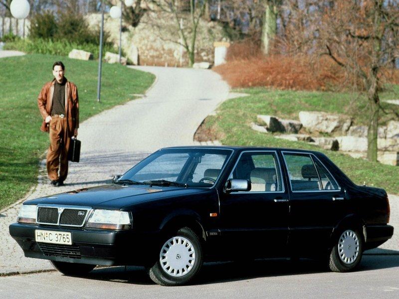 1984 lancia thema. Lancia Thema / Лянча Тема
