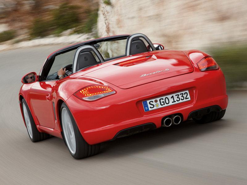 Выберите фотографию Porsche Boxste…