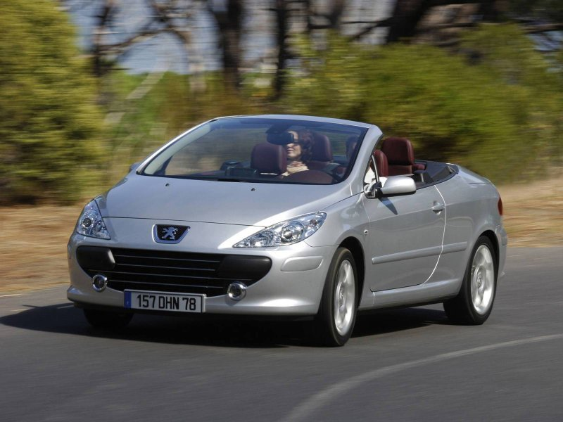 Фото Peugeot 307 CC.
