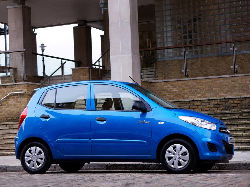 Обои Hyundai синее авто Автомобили …