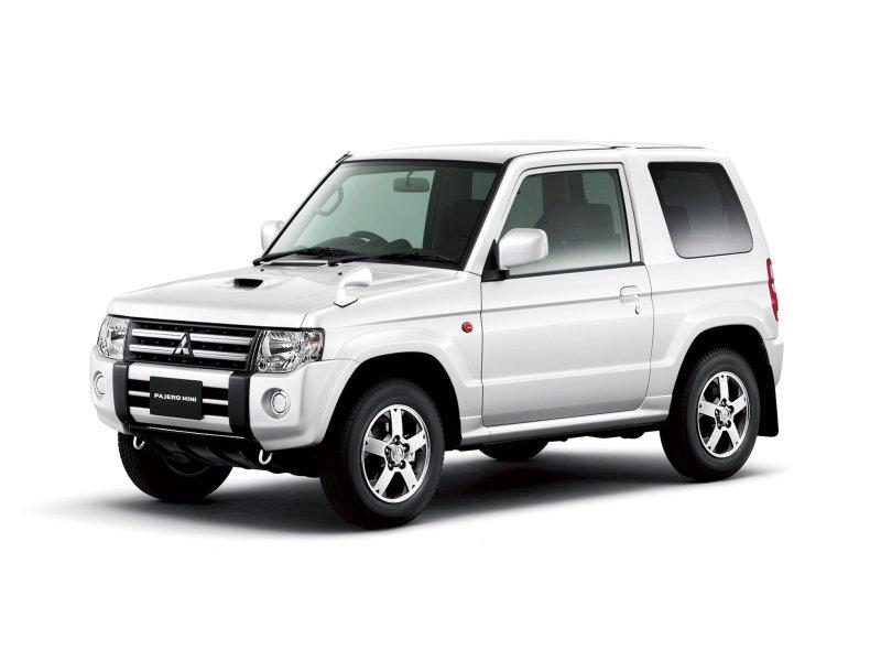 Mitsubishi Pajero Mini внедорожн…